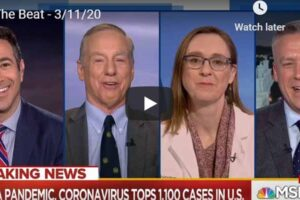 MSNBC The Beat With Ari Melber – Coronavirus