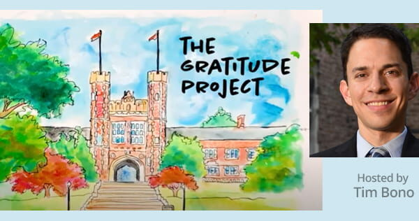 WashU's Gratitude Project Features Internal Medicine Residency Program